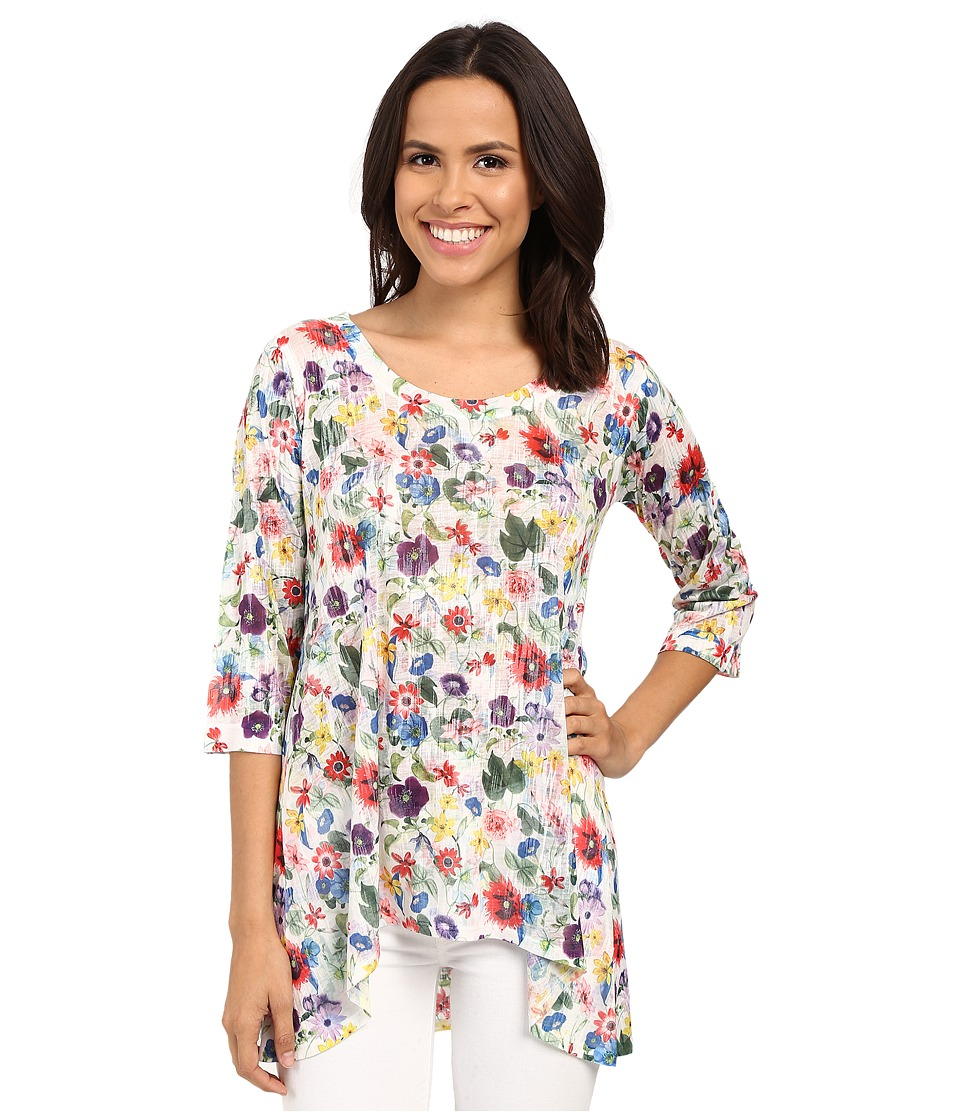 Nally amp Millie Colorful Floral Tunic Multi Womens Blouse