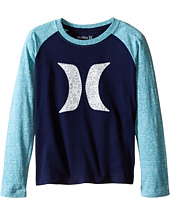 Hurley Kids - Icon Boy Raglan (Little Kids)