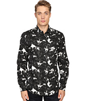 Just Cavalli - Slim Fit Rebel Youth Pring Woven Shirt