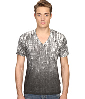 Just Cavalli - Slim Fit Scale V-Neck T-Shirt