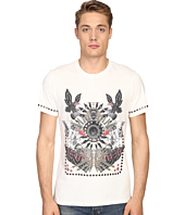 Just Cavalli - Slim Fit Abstract Print Jersey T-Shirt