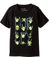 Hurley Kids - All Signs Tee (Little Kids)
