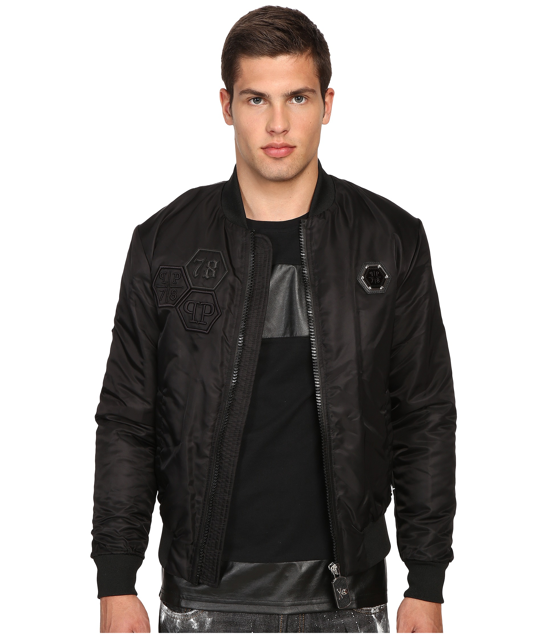 philipp plein everglades bomber jacket free. Black Bedroom Furniture Sets. Home Design Ideas