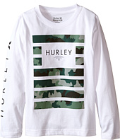 Hurley Kids - Pair Of Dice Long Sleeve Tee (Little Kids)