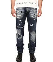 Philipp Plein - Straight Cut Deep Jeans