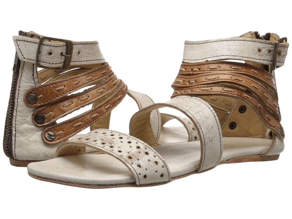 Bed Stu Artemis Nectar Tan Lux Leather Womens Sandals