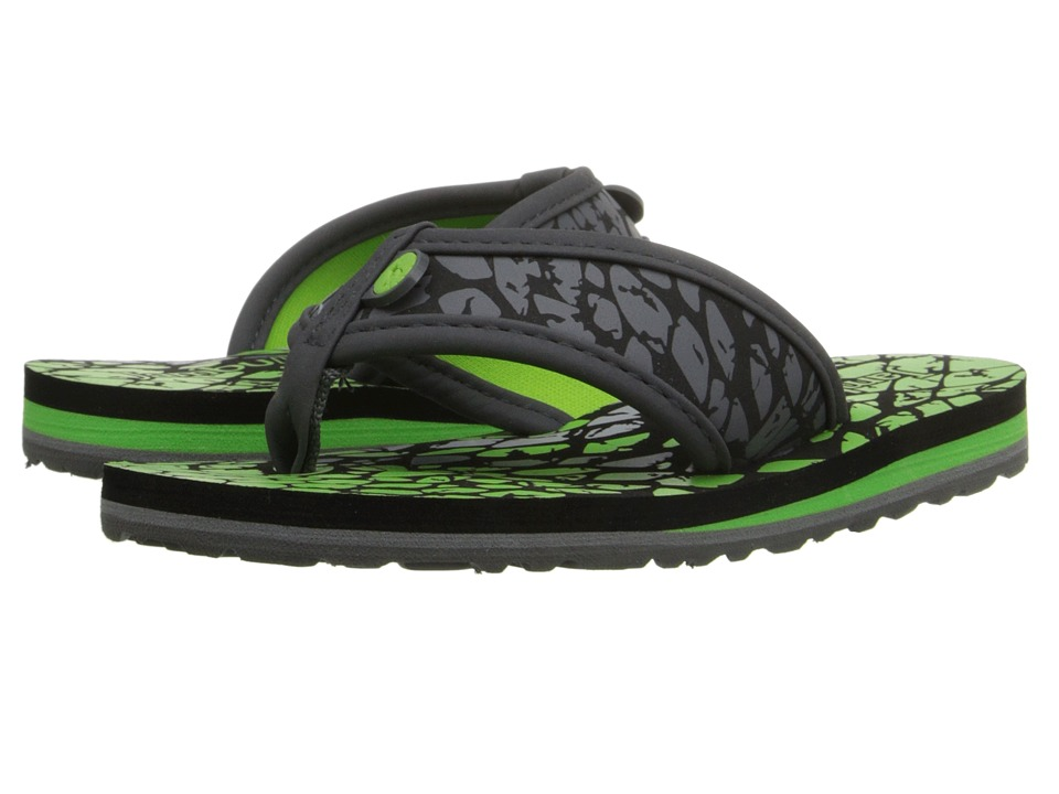 Jambu Kids Crescent (Toddler/Little Kid/Big Kid) (Charcoal Green) Boys Shoes