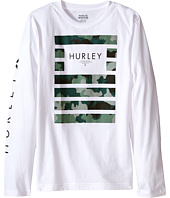 Hurley Kids - Pair Of Dice Long Sleeve Tee (Big Kids)