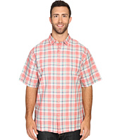 Tommy Bahama Big & Tall - Big & Tall Maduro Plaid Short Sleeve
