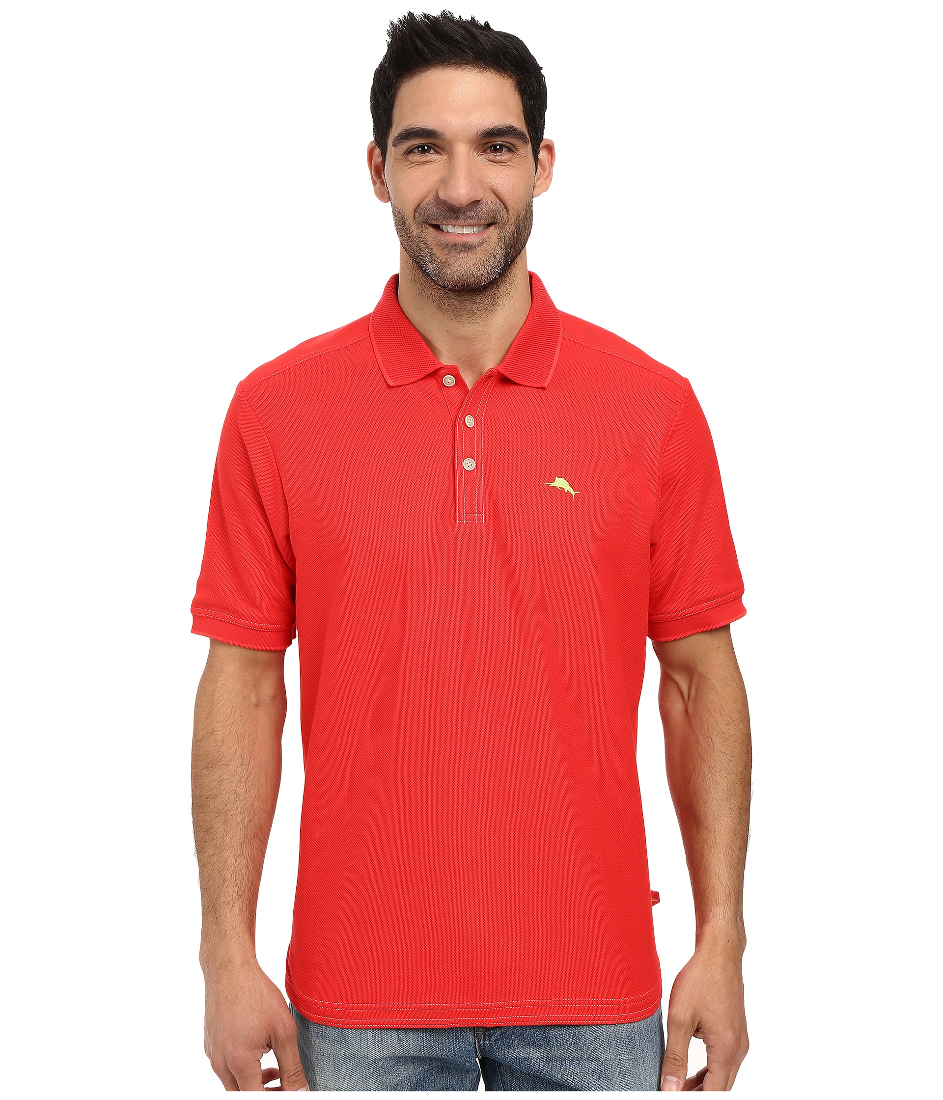 Tommy bahama the emfielder polo shirt free for Tommy bahama polo shirts on sale