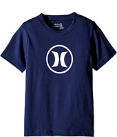 Hurley Kids - Dri Fit Icon Tee (Little Kids)