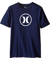 Hurley Kids - Dri Fit Icon Tee (Big kids)