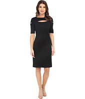 NUE by Shani - Knit Dress with Keyhole and Cut Out Detail