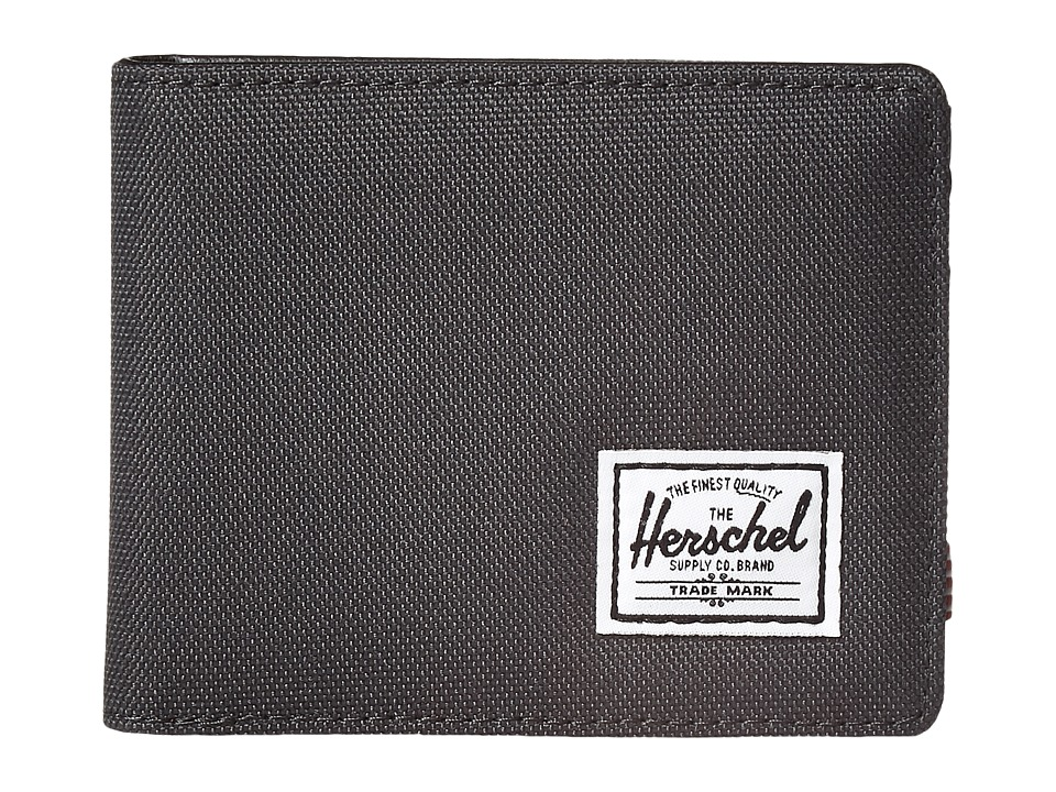 Herschel Supply Co. - Hank (Dark Shadow/Black Synthetic Leather) Wallet Handbags