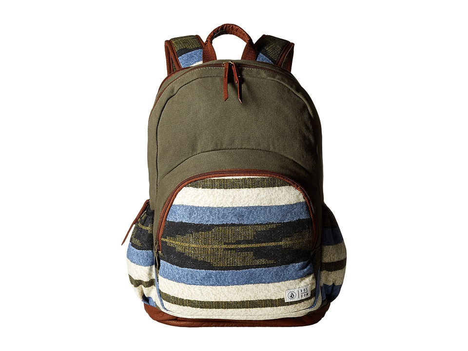 Volcom - Fieldtrip Canvas Backpack (Lentil Green) Backpack Bags