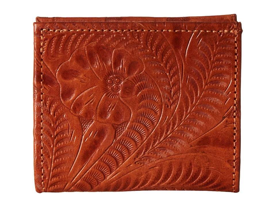 American West - Boyfriend Wallet Bifold Wallet (Golden Tan 2) Wallet Handbags