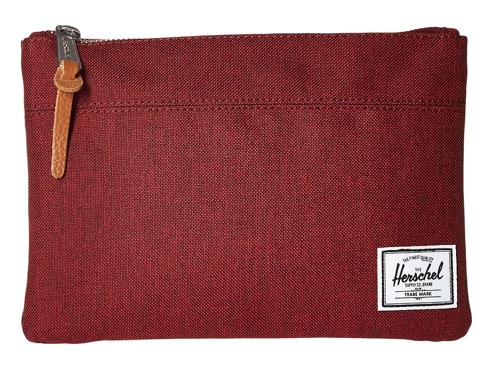 Herschel Supply Co. - Field Pouch (Winetasting Crosshatch) Travel Pouch