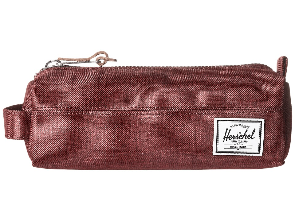 Herschel Supply Co. - Settlement Case (Winetasting Crosshatch) Travel Pouch