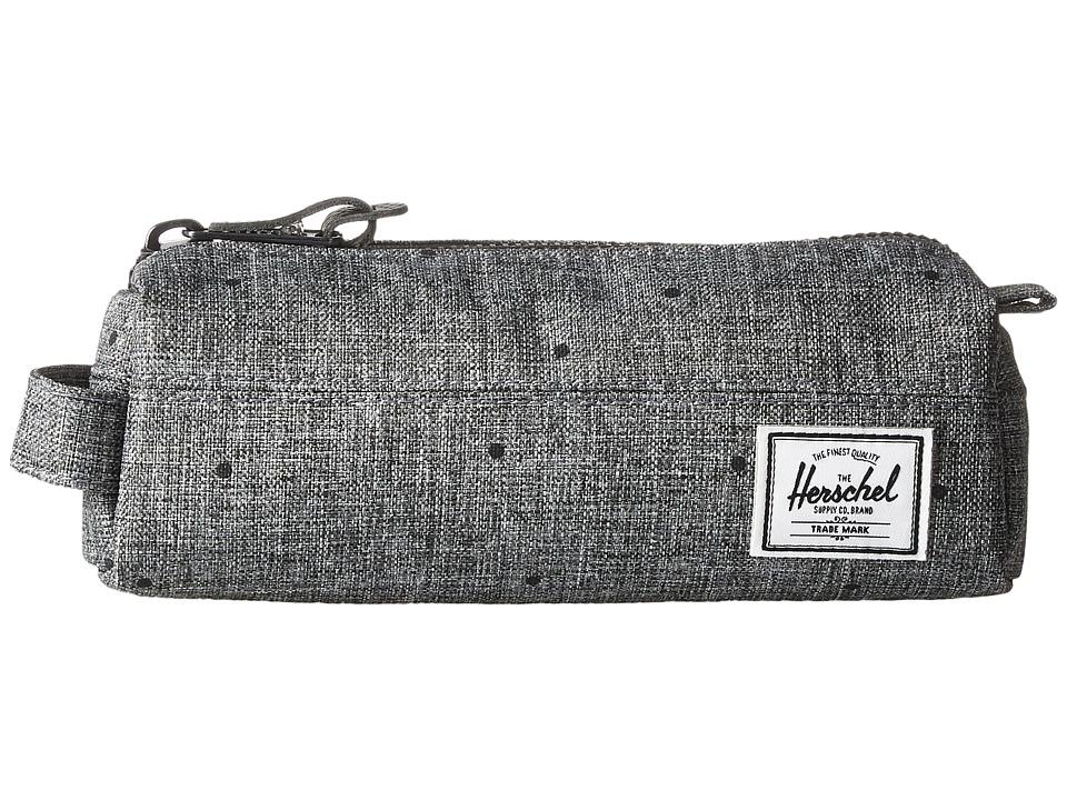 Herschel Supply Co. - Settlement Case (Scattered Raven Crosshatch) Travel Pouch