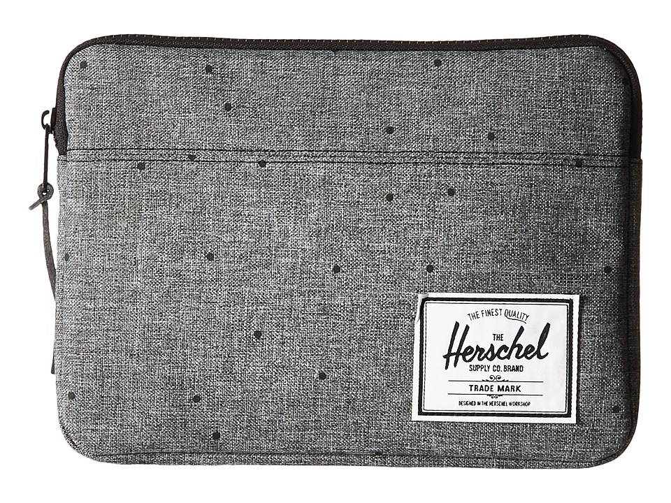 Herschel Supply Co. Anchor Sleeve for iPad Air (Scattered Raven Crosshatch) Computer Bags