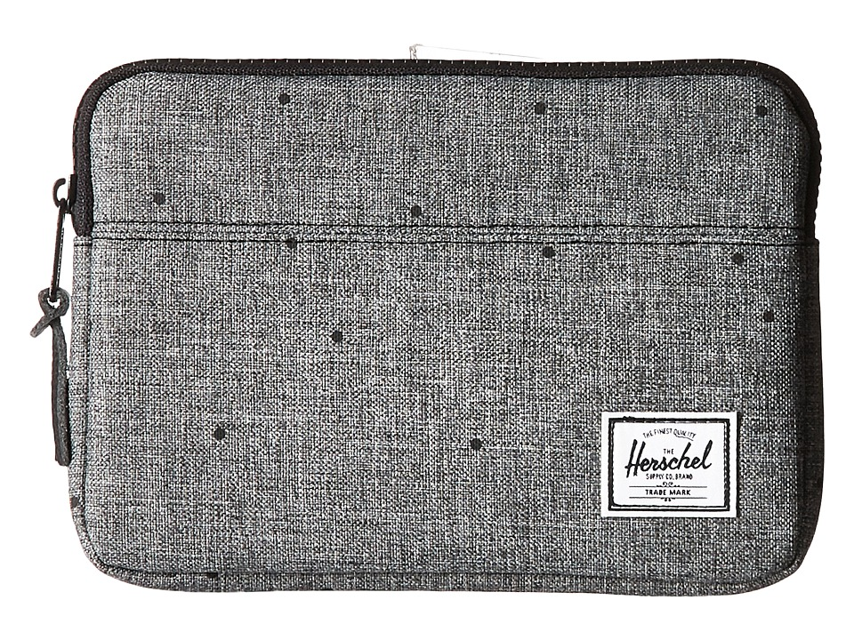 Herschel Supply Co. Anchor Sleeve for iPad Mini (Scattered Raven Crosshatch) Computer Bags