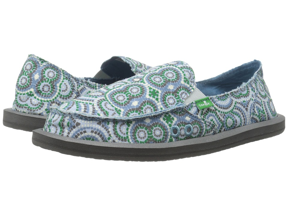 Sanuk Donna (Cement Multi Radio Love) Women