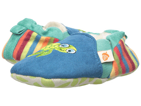 Acorn Kids Easy-On Moc (Infant/Toddler) - Turquoise Turtle