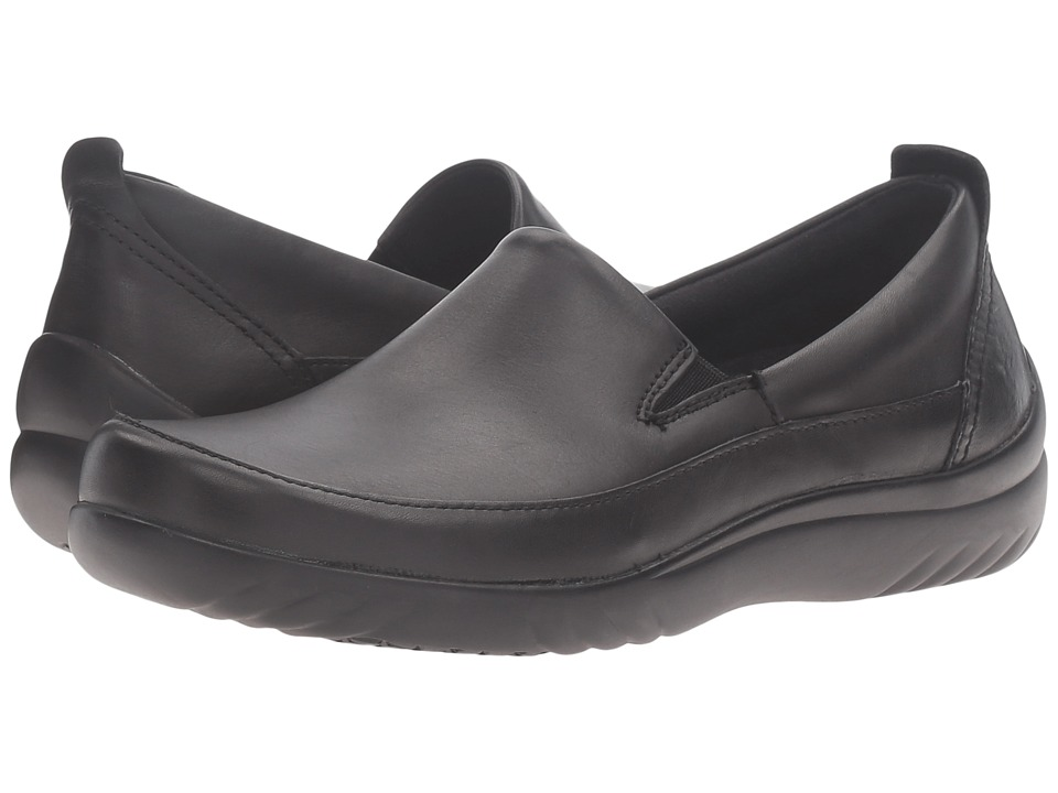 Klogs Footwear - Ashbury (Black Full Grain) Women's Clog ...