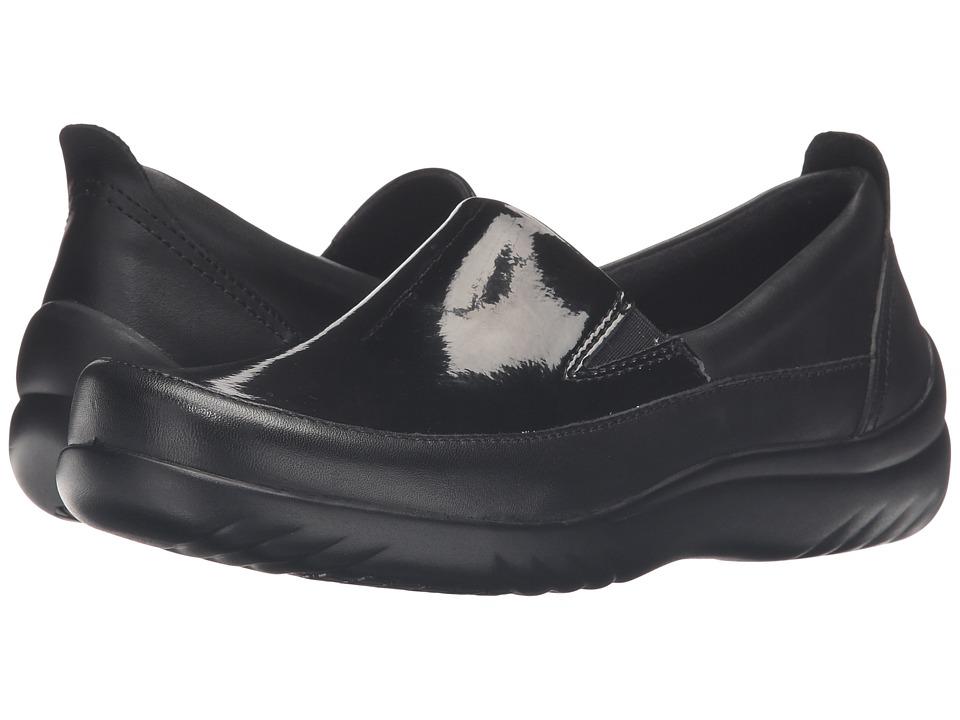 Klogs Footwear - Ashbury (Black Patent) Women's Clog Shoes