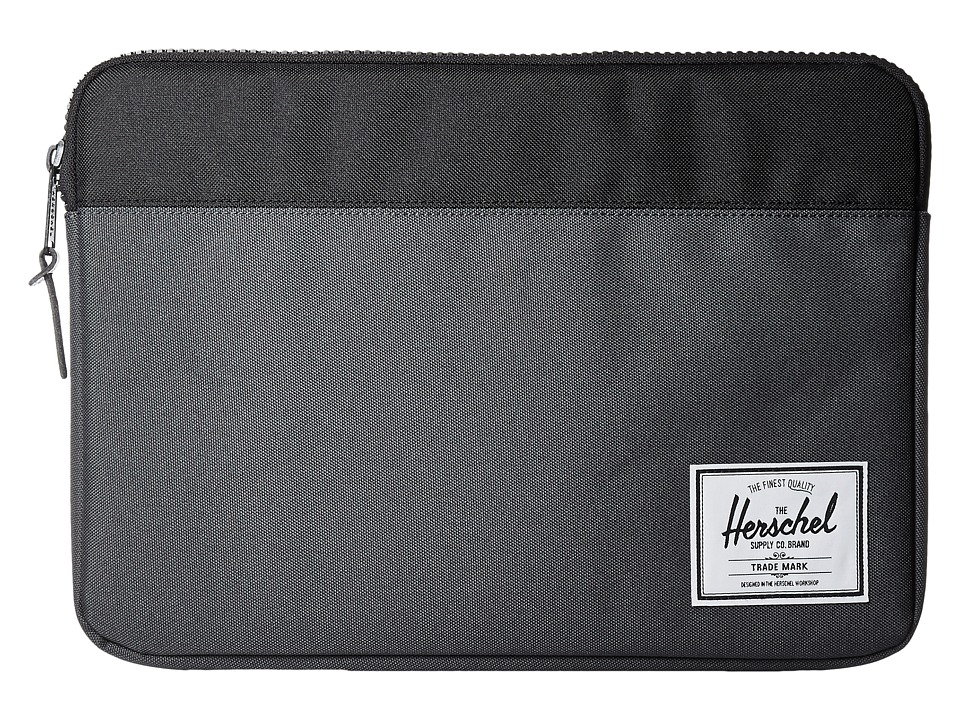 Herschel Supply Co. - Anchor Sleeve 13 (Dark Shadow/Black) Computer Bags