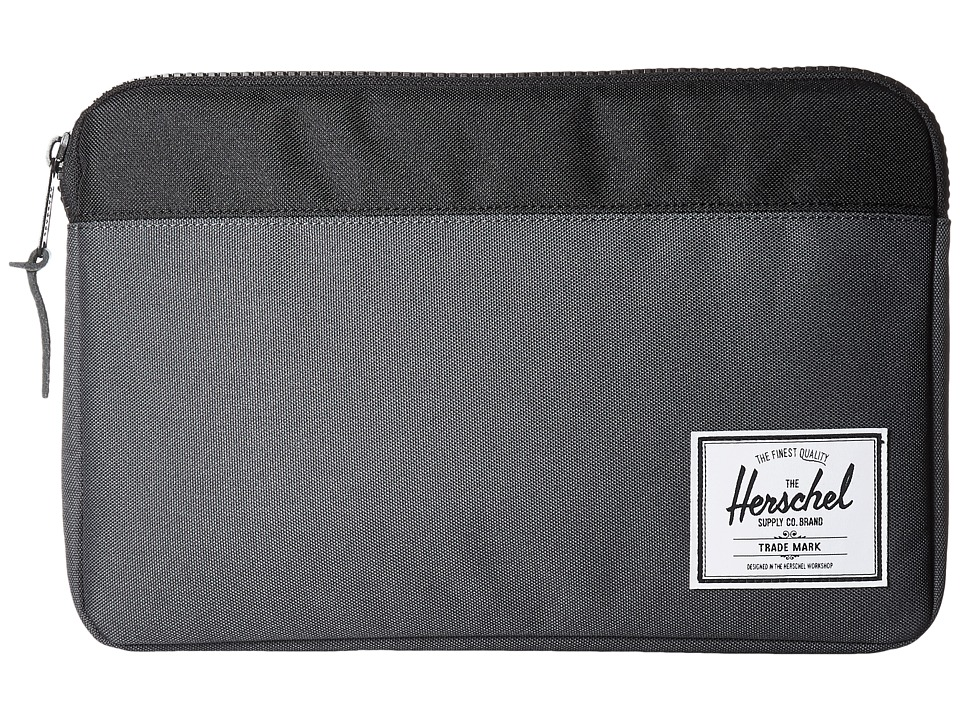 Herschel Supply Co. - Anchor Sleeve 12 (Dark Shadow/Black) Computer Bags