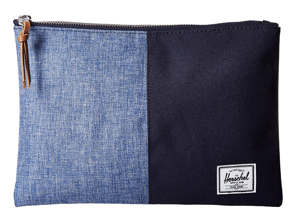 Herschel Supply Co. - Anchor Sleeve 15 (Limoges Crosshatch/Peacoat) Computer Bags