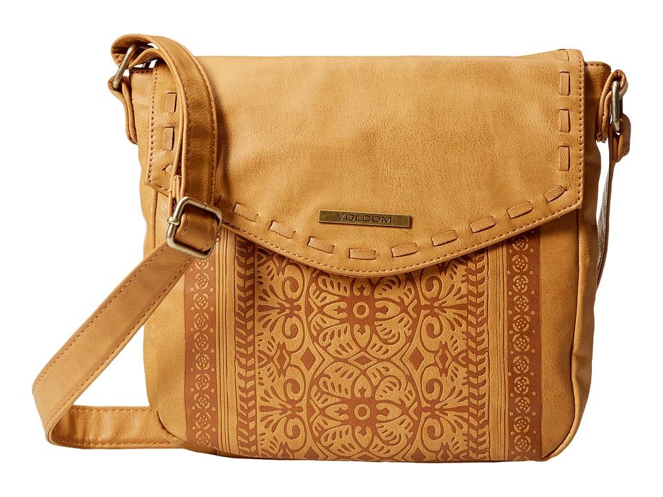 Volcom - Rebel Rose CB (Tan) Handbags