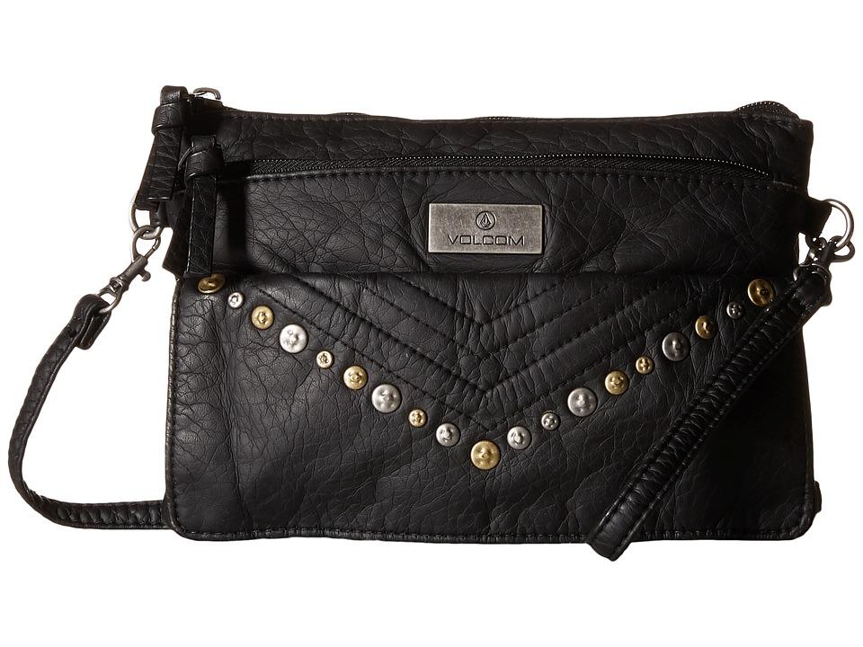 Volcom - Pretty Tough CB (Black) Handbags