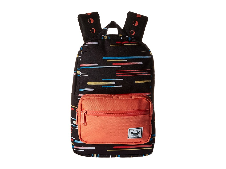 Herschel Supply Co. - Pop Quiz Kids (Comets/Fresh Salmon) Backpack Bags