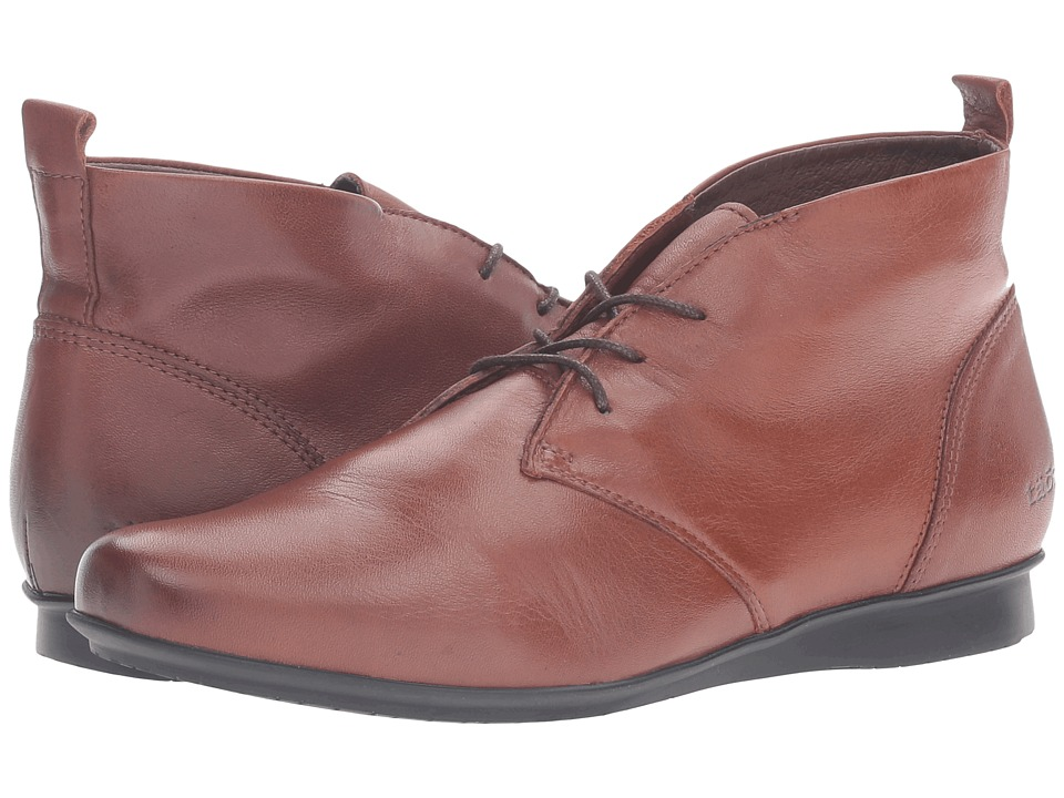 Vintage Style Boots Taos Footwear - Robin Deep Cognac Womens Shoes $165.00 AT vintagedancer.com