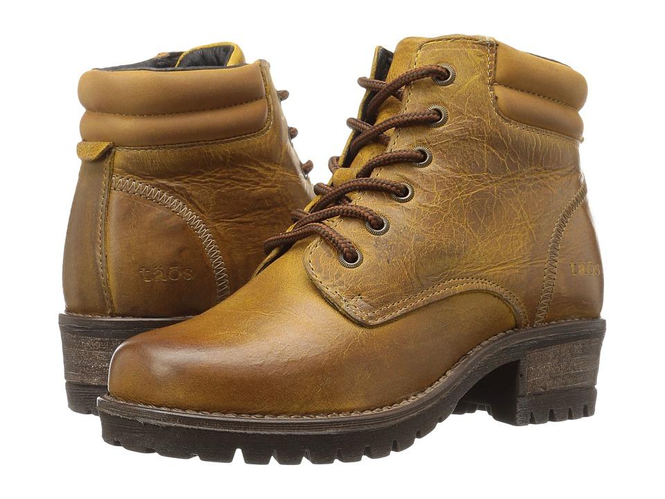 Taos Footwear Rebel (Yellow) Women