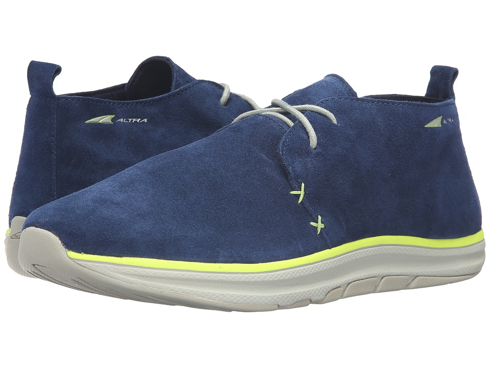 Image of Altra Footwear - Desert Boot (Blue/Lime) Men's Shoes