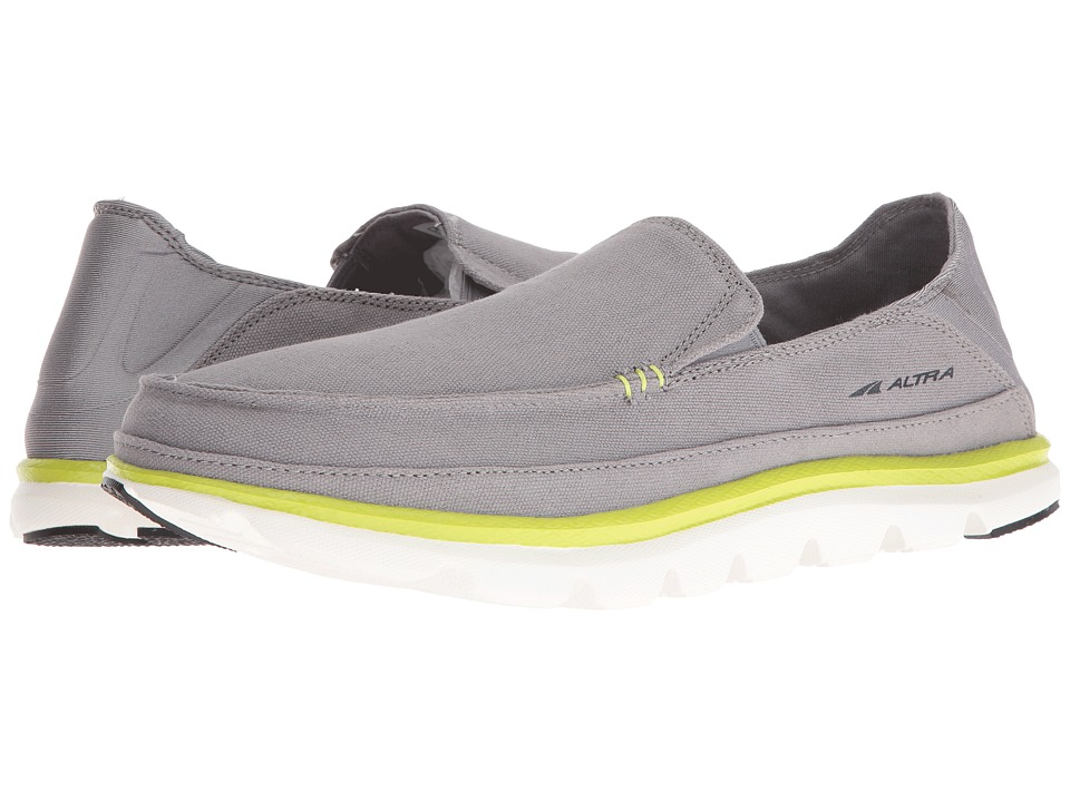 Altra Footwear - Tokala (Gray/Lime) Mens Shoes