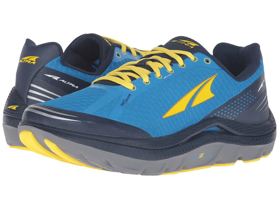 Altra Footwear - Paradigm 2 (Blue/Yellow) Mens Shoes