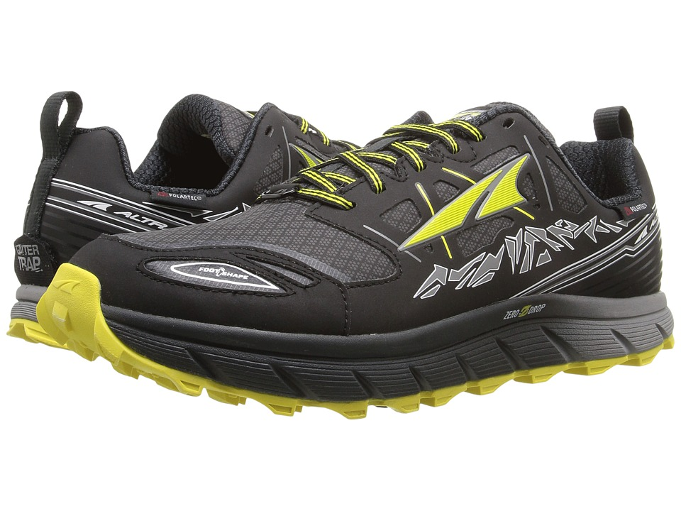 Altra Footwear - Lone Peak 3 Neoshell (Black/Yellow) Mens Shoes