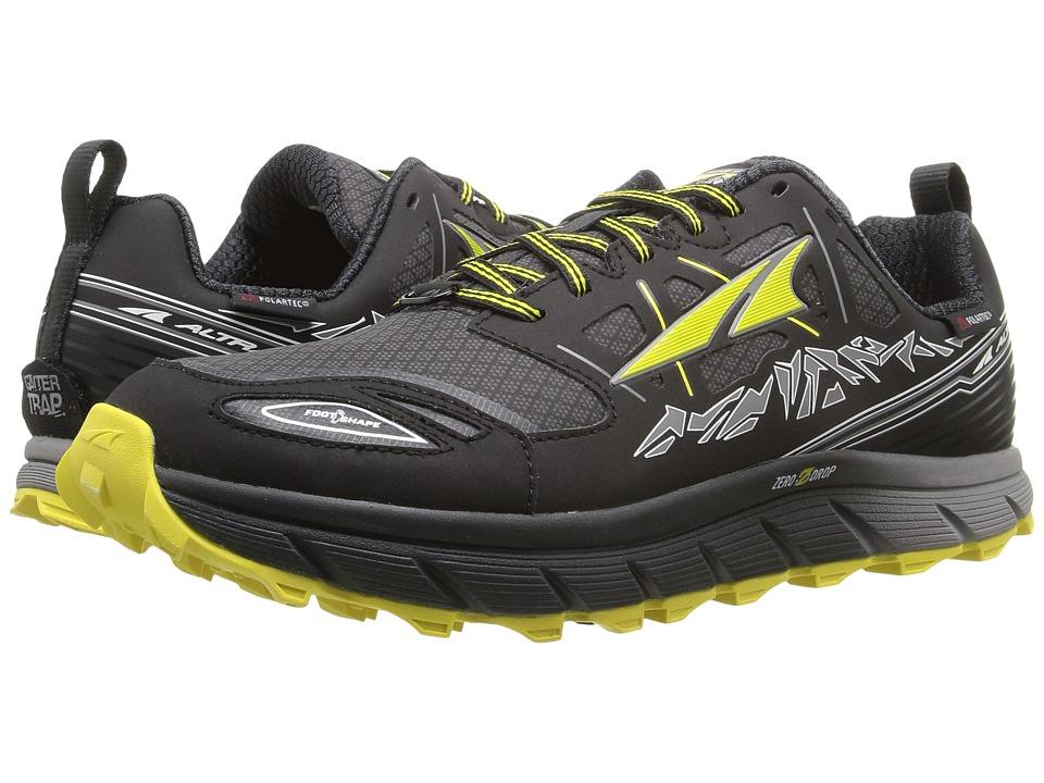 Altra Footwear - Lone Peak 3 Neoshell (Black/Yellow) Mens Shoes
