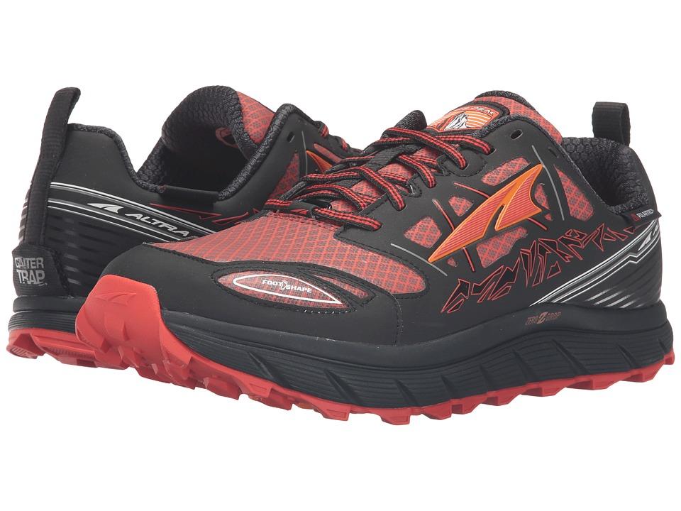 Altra Footwear - Lone Peak 3 Neoshell (Black/Orange) Men'...