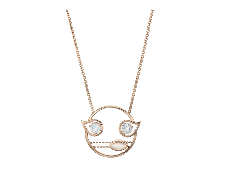 RUIFIER Florentina Necklace 18ct Rose Gold Necklace
