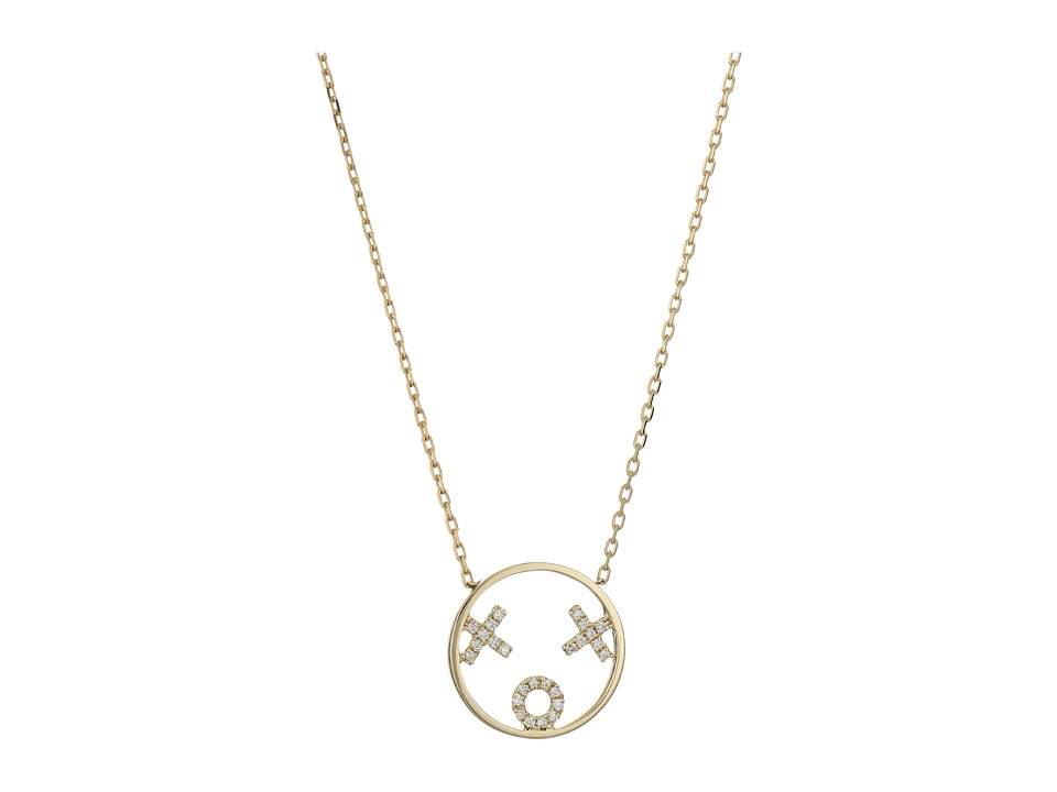 RUIFIER XOXO Necklace 9ct Yellow Gold Necklace