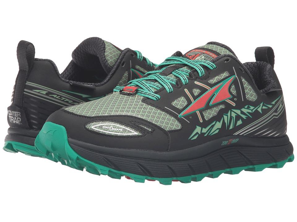 Altra Footwear - Lone Peak 3 Neoshell (Black/Mint) Women'...