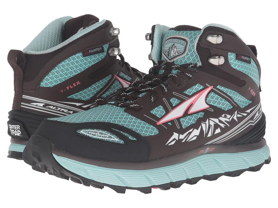 Altra Footwear - Lone Peak 3 Mid Neoshell (Blue) Women's ...