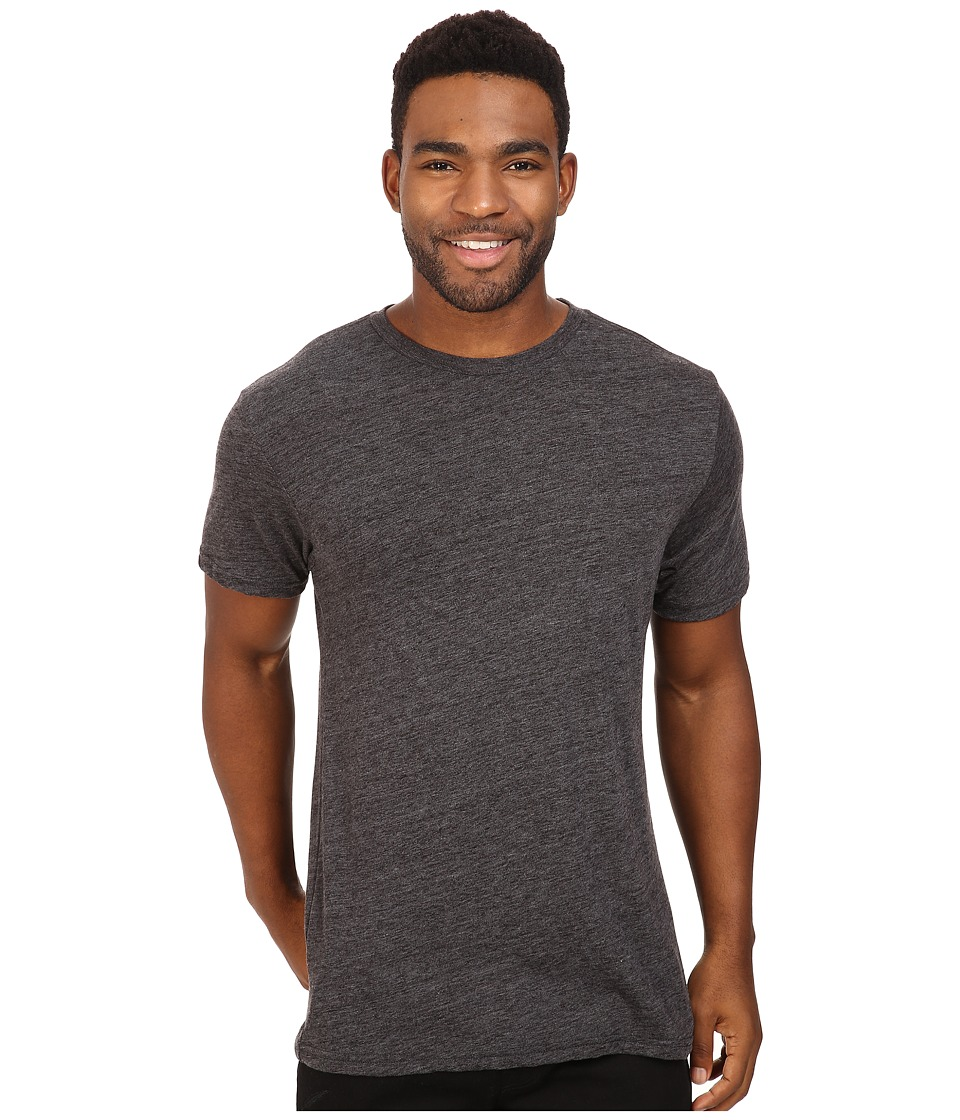 Billabong - Essential Tailored Tri-Blend Tee (Black Tri-Blend) Men