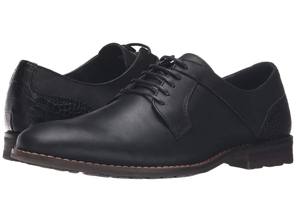 Steve Madden - Kojaxx (Black Leather) Men