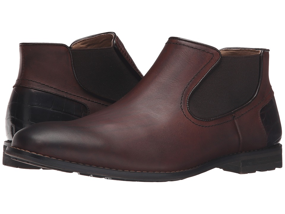 Steve Madden - Kelen (Brown Leather) Men